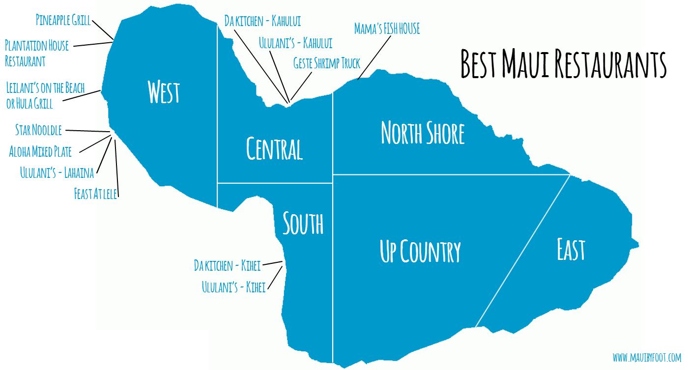 Best Maui Restaurants - Maui by Foot